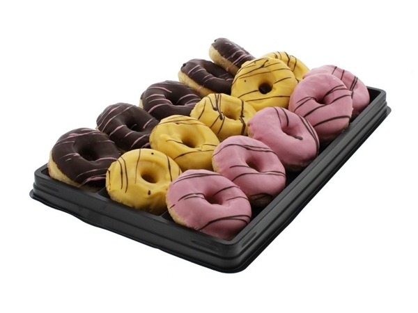 Box mini donuts assorti a 15